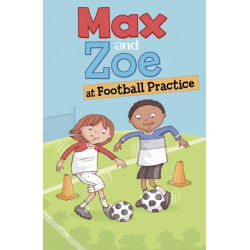 Max and Zoe at Football Practice