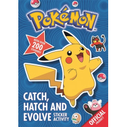 Pokemon: Catch, Hatch and Evolve Sticker Activity: With over 200 stickers