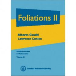 Foliations, Volume 2