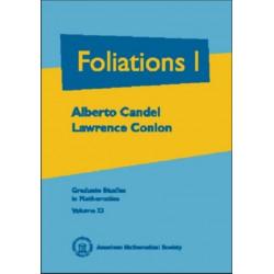 Foliations, Volume 1