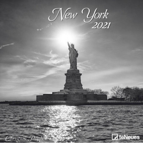 NEW YORK 30 X 30 GRID CALENDAR 2021
