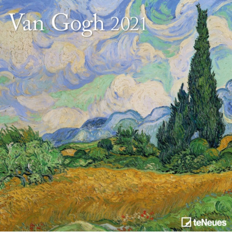 VAN GOGH 30 X 30 GRID CALENDAR 2021