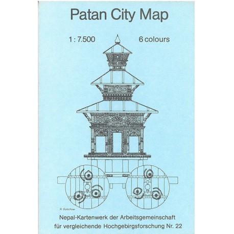 Patan City Map