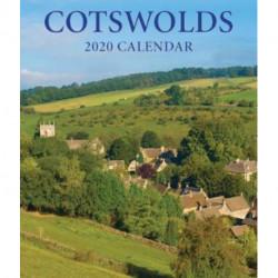 Cotswolds Large Desktop Calendar - 2020