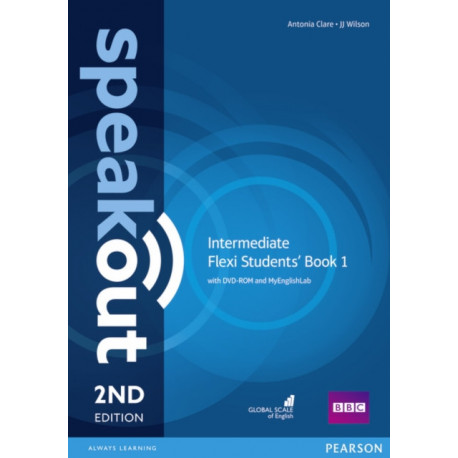 Speakout Intermediate 2nd Edition Flexi Students' Book 1 with MyEnglishLab Pack