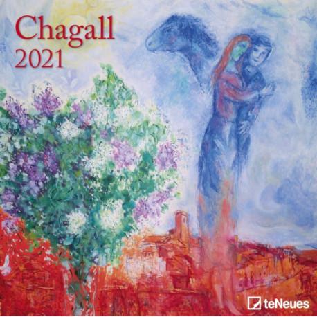 CHAGALL 30 X 30 GRID CALENDAR 2021