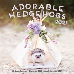 Adorable Hedgehogs 2021: 16-Month Calendar - September 2020 through December 2021