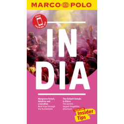 India Marco Polo Pocket Travel Guide - with pull out map