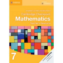 Cambridge Checkpoint Mathematics Teacher's Resource 7