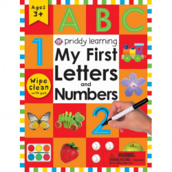 Wipe Clean Workbook: My First Letters and Numbers: Ages 3+- with pen