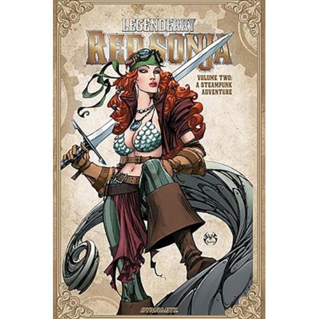Legenderry Red Sonja: A Steampunk Adventure Vol. 2 TP