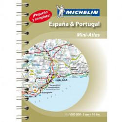 Spain & Portugal - Mini Atlas: Mini Atlas Spiral