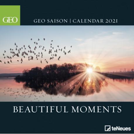 GEO BEAUTIFUL MOMENTS 30 X 30 GRID CALEN