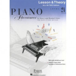 Piano Adventures All-in-Two Level 2a Lesson/Theory: Lesson & Theory - Anglicised Edition