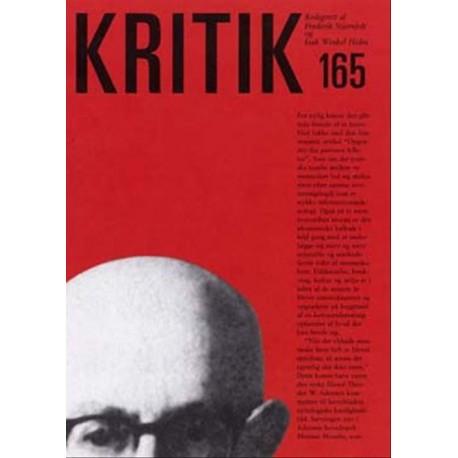 Kritik (Nr. 165 - 36. årgang)