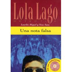 Lola Lago, detective: Una nota falsa + CD (A2)