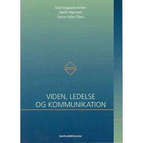 Viden, ledelse og kommunikation
