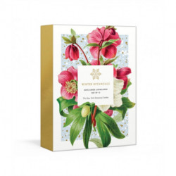 Winter Botanicals: 12 Note Cards and Envelopes