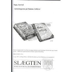 Sogn, herred - kirkebøgerne på Statens Arkiver