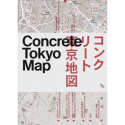 Concrete Tokyo Map: Guide to Concrete Architecture in Tokyo