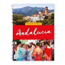 Andalucia Marco Polo Travel Guide - with pull out map