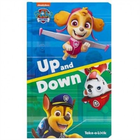 Paw Patrol Up & Down Take A Look Book