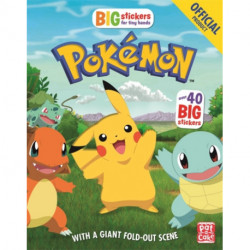The Official Pokemon Big Stickers for Tiny Hands