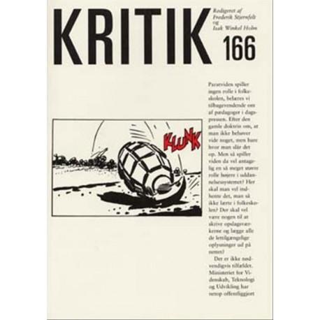 Kritik (Nr. 166 - 36. årgang)