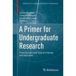 A Primer for Undergraduate Research: From Groups and Tiles to Frames and Vaccines