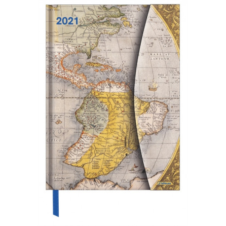 ANTIQUE MAPS LARGE MAGNETO DIARY 2021