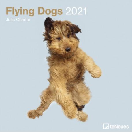 FLYING DOGS 30 X 30 GRID CALENDAR 2021