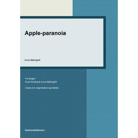 Apple-paranoia