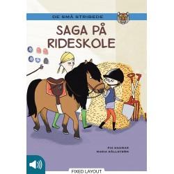Kommas læsestart: Saga på rideskole - niveau 2
