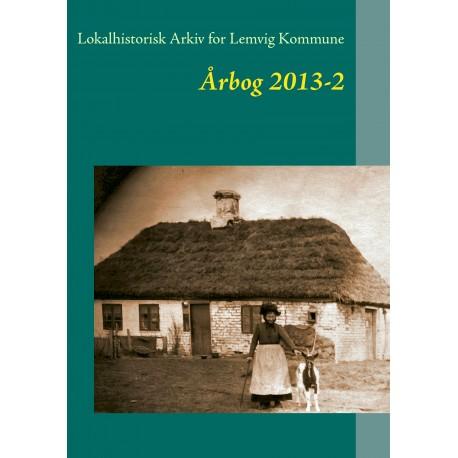 Lokalhistorisk Arkiv for Lemvig Kommune: Årbog 2013-2