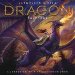 Llewellyn's 2020 Dragon Calendar