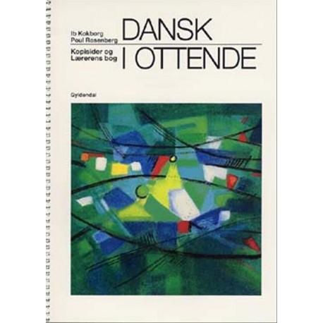 Dansk i ottende: grundbog, Kopisider og Lærerens bog