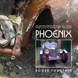 Phoenix: The amazing emergence of this Riley Special from a sea of burned out wreckage