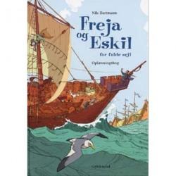 Freja og Eskil for fulde sejl: oplæsningsbog