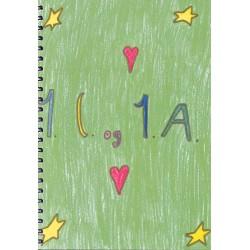 1. a og 1.c - Mosedeskolen: uddrag fra elevernes børnestavningshistorier