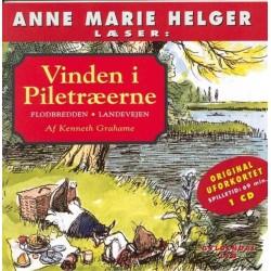 Anne Marie Helger læser Vinden i Piletræerne 1: Flodbredden - Landevejen