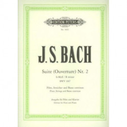 SUITE OVERTURE NO 2 B MINOR BWV 1067