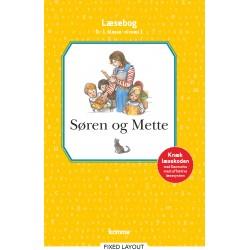 Søren og Mette læsebog  0.-1. kl. Niv. 1
