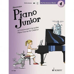 Piano Junior: Performance Book 4: A Creative and Interactive Piano Course for Children
