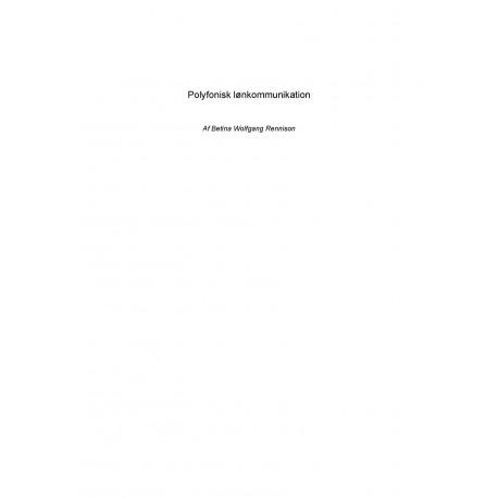 Polyfonisk lønkommunikation
