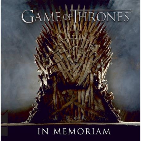 Game of Thrones: In Memoriam