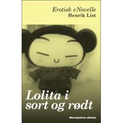 Lolita i sort og rødt