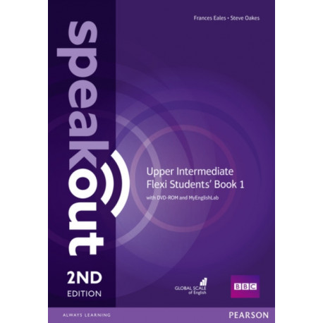 Speakout Upper Intermediate 2nd Edition Flexi Students' Book 1 with MyEnglishLab Pack