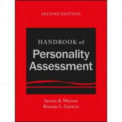Handbook of Personality Assessment