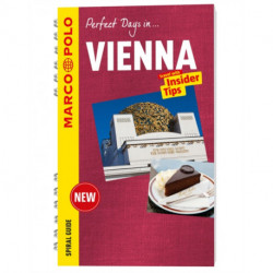 Vienna Marco Polo Travel Guide - with pull out map