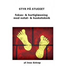 Styr på studiet: Fokus- og Hurtiglæsning med effektiv notat- og husketeknik